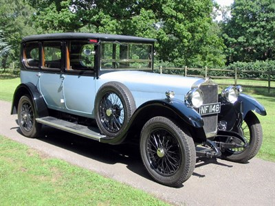 Lot 17-1926 Talbot 18/55 Limousine