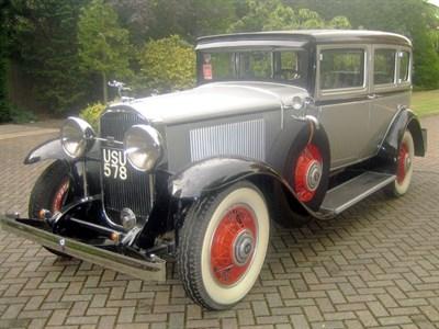 Lot 28-1931 Buick Straight Eight Sedan