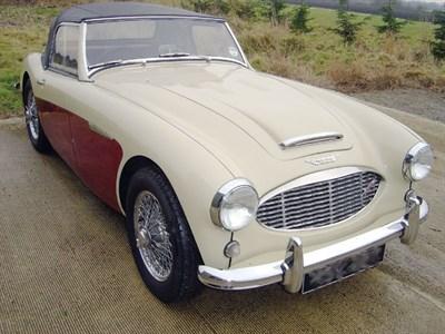 Lot 25-1959 Austin-Healey 3000 MKI