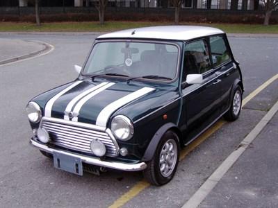 Lot 13-1997 Rover Mini Cooper