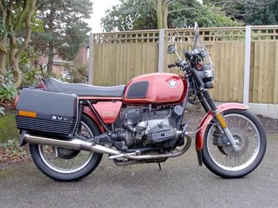 Lot 50-1981 BMW R80
