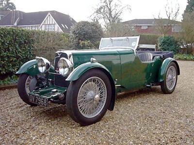 Lot 40-1932 Aston Martin International