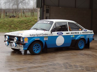 Lot 55-1975 Ford Escort RS 1800