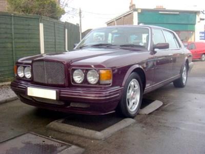 Lot 41-1997 Bentley Turbo RT
