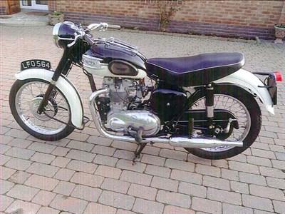 Lot 53-1957 Triumph T100 Tiger