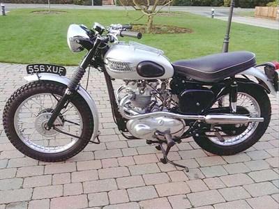 Lot 56-1958 Triumph TR5 Trophy