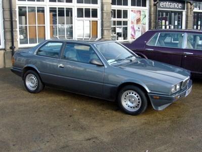 Lot 43-1989 Maserati 222 E