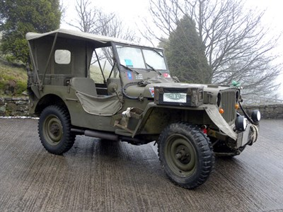 Lot 12-1942 Willys Jeep