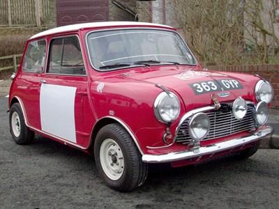 Lot 24-1963 Austin Mini Cooper S Rally Car