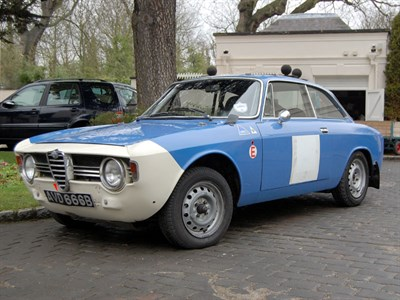 Lot 50-1964 Alfa Romeo Giulia Sprint GT