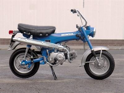 Lot 49-1972 Honda ST50