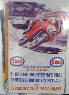 Lot 500 - Twenty Le Mans 24 Heures Posters