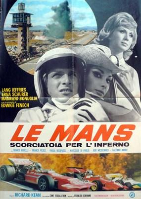 Lot 501 - 'Le Mans' Original Film Poster