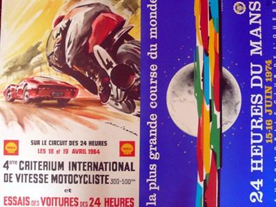 Lot 502 - Quantity of Le Mans Posters