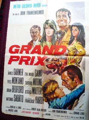 Lot 503 - 'Grand Prix' Original Film Poster