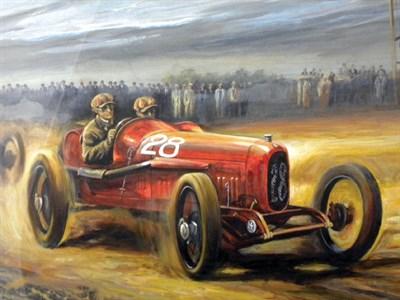 Lot 509 - 'In the Beginning' / Ferrari Original Artwork