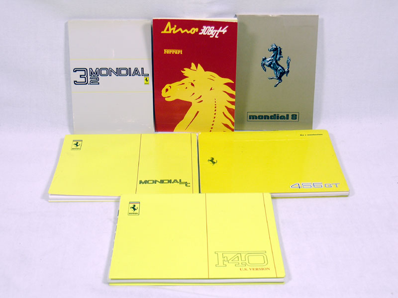 Lot 109-Quantity of Ferrari Handbooks