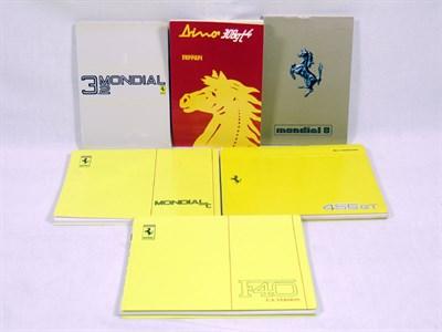 Lot 109-Quantity of Ferrari Handbooks
