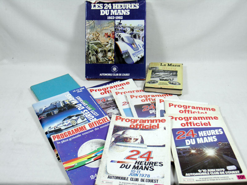 Lot 100-Le Mans Paperwork