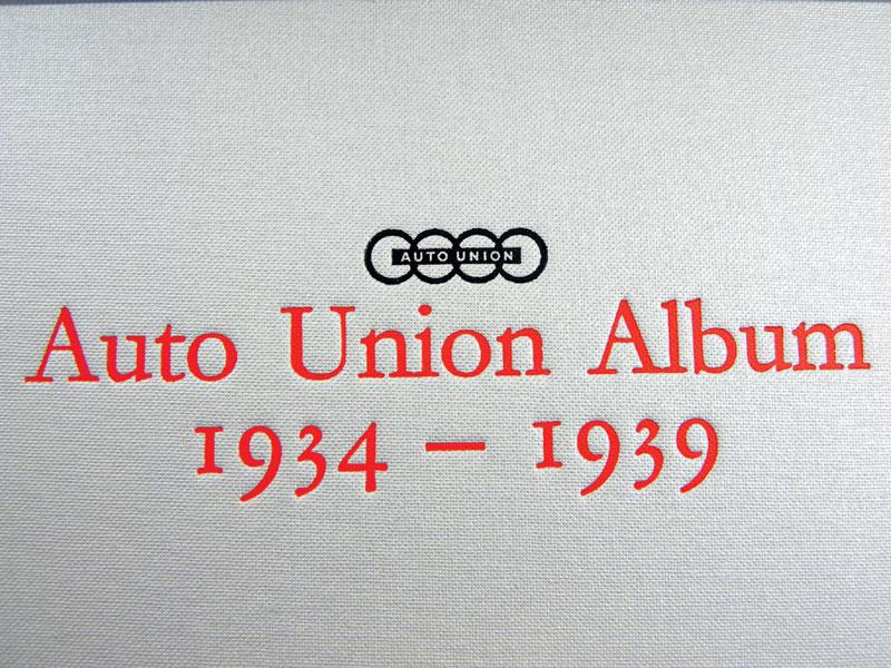 Lot 121-Auto Union Album 1934 - 1939 by Nixon