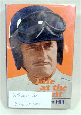 Lot 104-Life at The Limit By Graham Hill