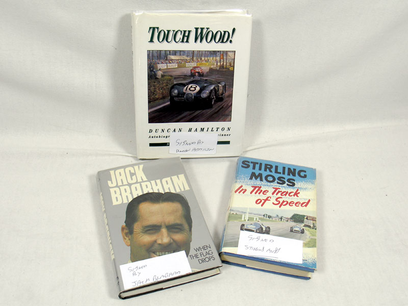 Lot 101 - Three Signed Autobiographies