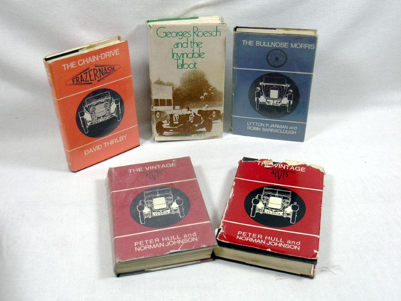 Lot 108 - Five Motoring Books