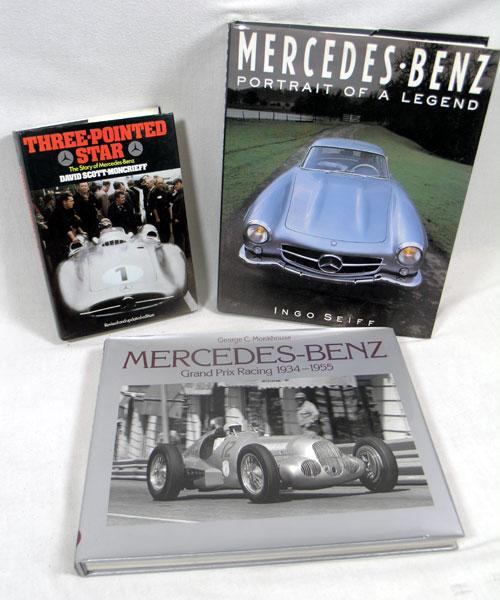 Lot 111 - Three Mercedes-Benz Books