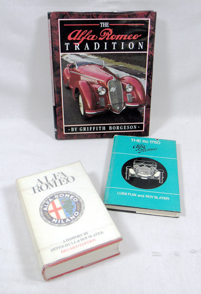 Lot 106-Three Alfa Romeo Books