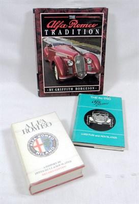 Lot 106-Three Alfa Romeo Books