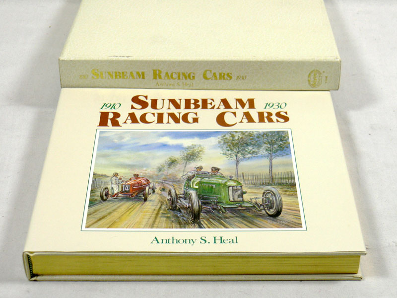 Lot 110 - Sunbeam Racing Cars 1910-1930 By Anthony Heal