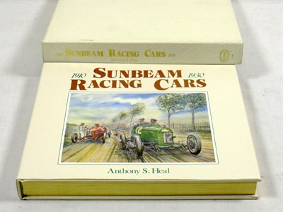 Lot 110-Sunbeam Racing Cars 1910-1930 By Anthony Heal
