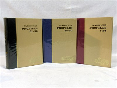 Lot 123-Classic Car Profiles Bound Volumes
