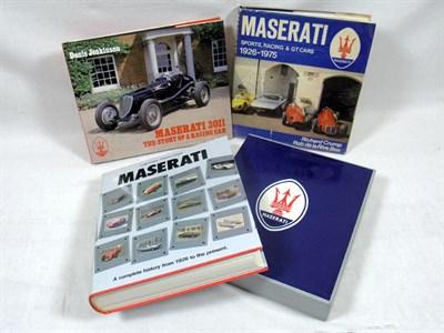 Lot 126-Three Maserati Books