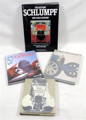 Lot 127-Four Bugatti Books
