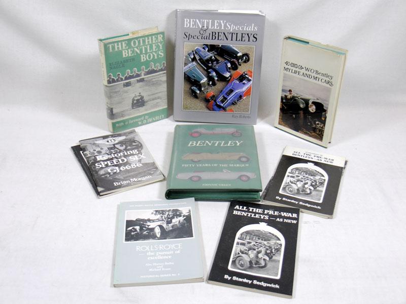Lot 113 - Quantity of Bentley Books