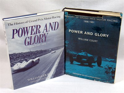 Lot 133-Power & Glory Volumes 1 & 2 By William Court