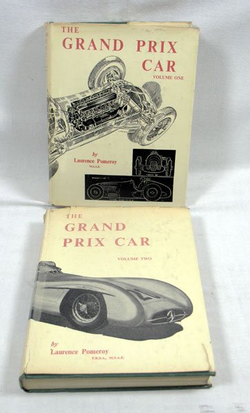Lot 115 - The Grand Prix Car (Vol 1 + 2) by Laurence Pomeroy