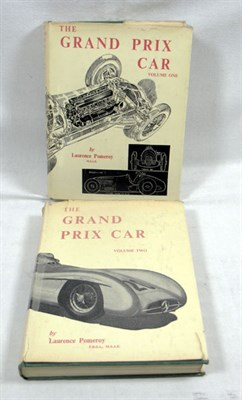 Lot 115-The Grand Prix Car (Vol 1 + 2) by Laurence Pomeroy