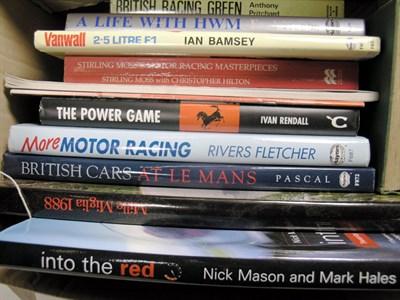 Lot 135-Quantity of Motor Racing Books
