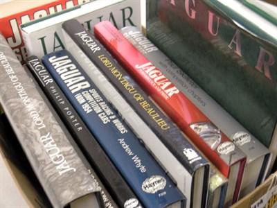 Lot 139-Quantity of Jaguar Books
