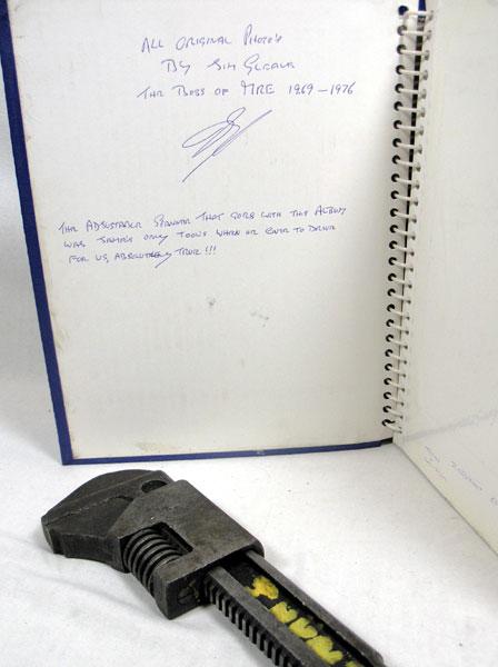 Lot 207-James Hunt's Personal Adjustable Spanner