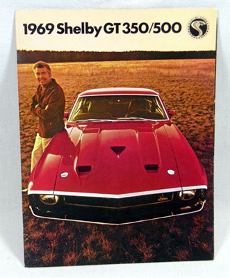Lot 125-Shelby GT Range Brochure