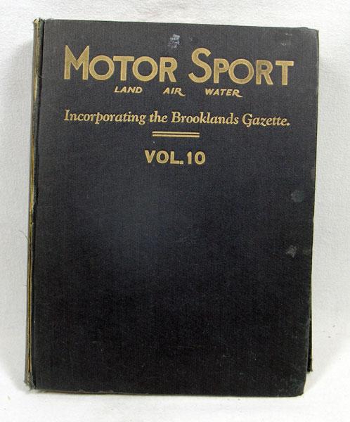 Lot 119 - Motorsport Magazine - Vol. 10, Bound