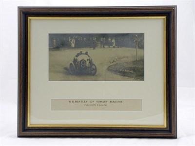 Lot 603 - W.O. Bentley Signed Photographic Presentation