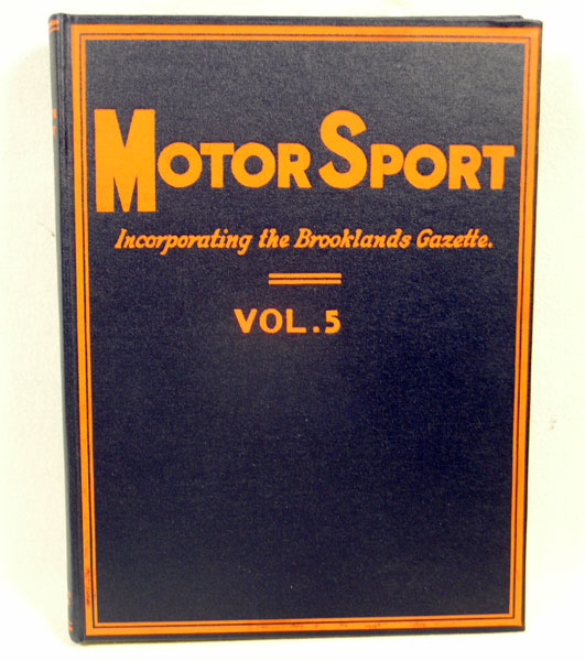 Lot 120-Bound Motorsport Magazine - Vol. 5 (Reprinted)