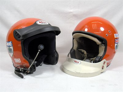 Lot 219-Two Crash Helmets
