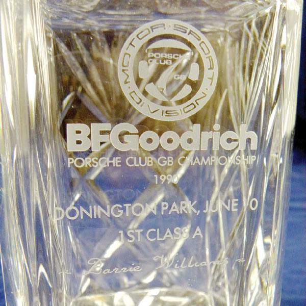 Lot 229 - Porsche Club GB Championship Awards