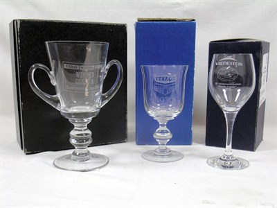 Lot 231-Three Glass Awards
