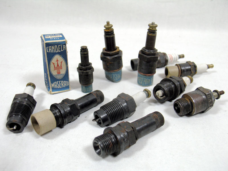 Lot 233-Quantity of Early Spark Plugs